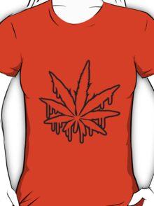 Weed Graffiti Design T-Shirt