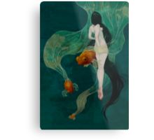 Swimming in Memories Metal Print