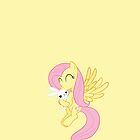 Fluttershy w/ Angel Case Design by STGaming
