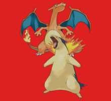 Charizard & Typhlosion by Stephen Dwyer