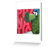 Philadelphia Phanatic Painting Greeting Card