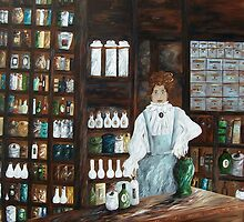 The Old Pharmacy by EloiseArt
