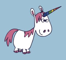 Cute Rainbow Cartoon Unicorn by Cheerful Madness!! by cheerfulmadness