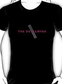 The De-Vamper (Clothing/pink/gray design) T-Shirt