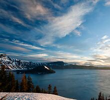 Crater Sunrise in Winter? by TeresaB