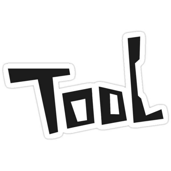 TooL - large text logo by Zenny Chang