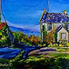 Deserted Farmhouse at Straidkilly, near Carnlough, Antrim Coast by Laura Butler
