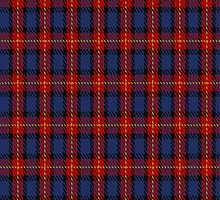 02195 Blue Checkerdots, (Unidentified #17) Tartan Fabric Print Iphone Case by Detnecs2013