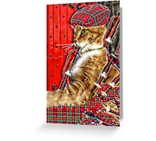 The Bagpiper Greeting Card