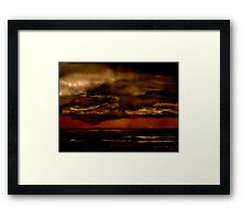 Tremors... Framed Print