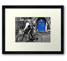 Cycle of Passing Religion Framed Print