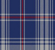 02204 Middle Kingdom Blue, (Unidentified #26) Tartan Fabric Print Iphone Case by Detnecs2013