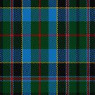 02215 Glacial Grace, (Unidentified #37) Tartan Fabric Print Iphone Case by Detnecs2013