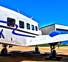 1956 Beechcraft at North Texas Regional Airport by aprilann
