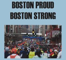 Boston Marathon Boston Strong by TWCreation