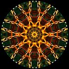 Flame Chain Kaleidoscope 02 by fantasytripp