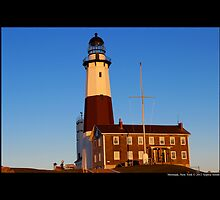 Montauk Point Light - Montauk, New York by © Sophie W. Smith