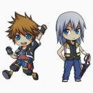 KH - Sora/Riku set by banafria