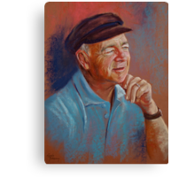 Portrait of Ted Canvas Print