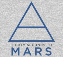 Thirty Seconds To Mars Triad (blue) by AimLamb