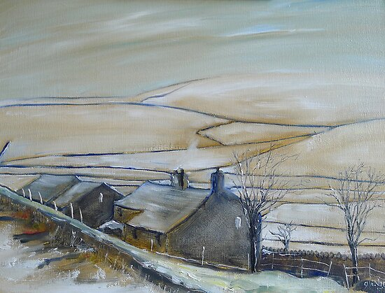 North Pennine Farm by Sue Nichol