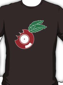 Apple Vinyl Bite - Record DJ T-Shirt