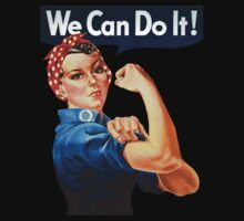"FM Rosie ""We Can Do It!"" by teetties"