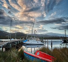 Early Morning, Franklin, Tasmania #3 by Chris Cobern
