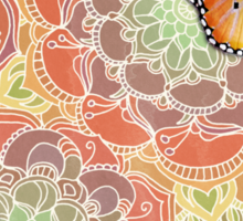 Butterfly Obsession Sticker