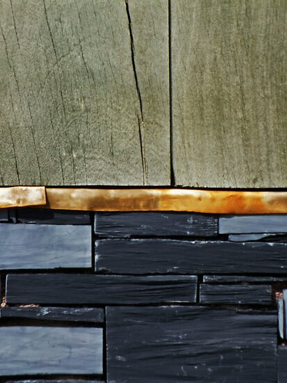 Wood, Metal and Rock by Yampimon