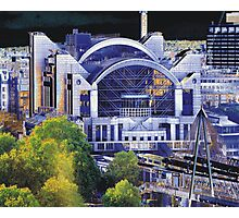 London Embankment Station Photographic Print