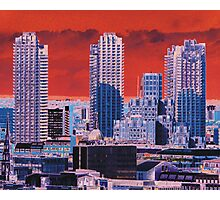London Tower Blocks Photographic Print