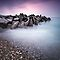 Rocky breakwater (Bovbjerg) by Dirk Wiemer