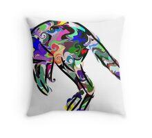 Kangaroo 2 Throw Pillow