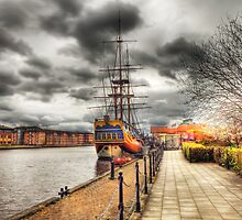 H M Bark Endeavour by John-Adams