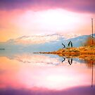 A Winter Morning at Okanagan Lake by Tara  Turner