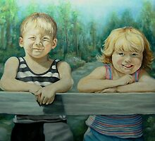 Cousins by Pam Humbargar