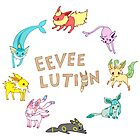 Eeveelution by Stephanie Hodges