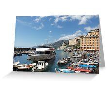 la mia bella ITALIA - CAMOGLI E IL SUO PORTICCIOLO-EUROPA-MONDO -  VETRINA RB EXPLORE APRILE 2013 -              Greeting Card