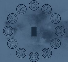 Gallifreyan Clock by biskh