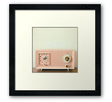 Easy Listening Framed Print