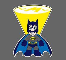 Super Bat Mario! by Jonathan  Ladd