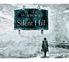 Welcome To Silent Hill Photographic Print