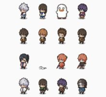 Pixel Gintama set by banafria