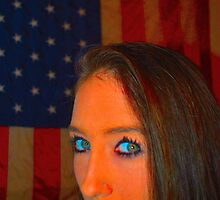 Stormy Gayle Blue Eyes by paulbl