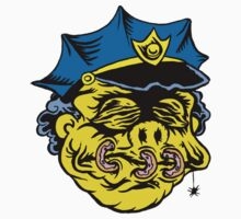 Shrunken-Head Wiggum by ghostfreehood