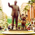Partners Statue Disneyland Paris by worldfallsdown