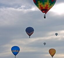 Balloons of Immokalee by Michael Damanski