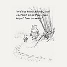 Pooh and Piglet Quote by schermer