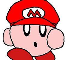 Supersized Mario Kirby  by dkdiamondz